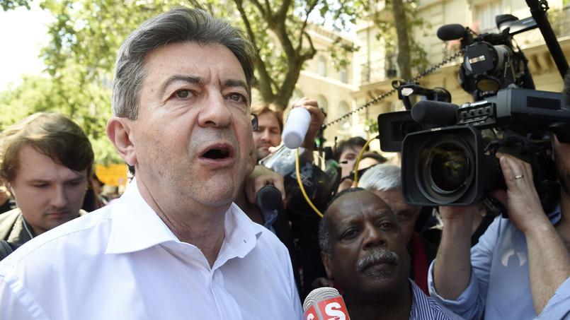Jean-Luc Mélenchon s'emporte contre Carrefour par erreur