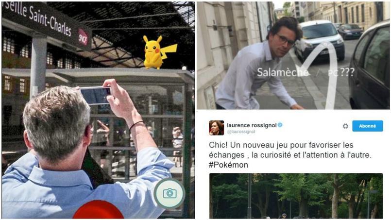Bruno le Maire et Geoffroy Didier sur Twitter, se mettent en scène avec Pokémon GO