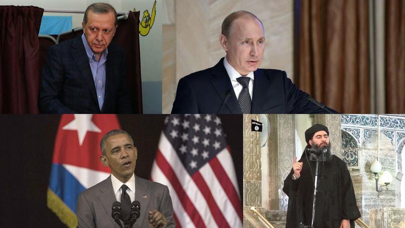 Crédits Photos: Alexei NIKOLSKY/AFP - Hussein MALLA/AP - Desmond BOYLAN/AP - AFP