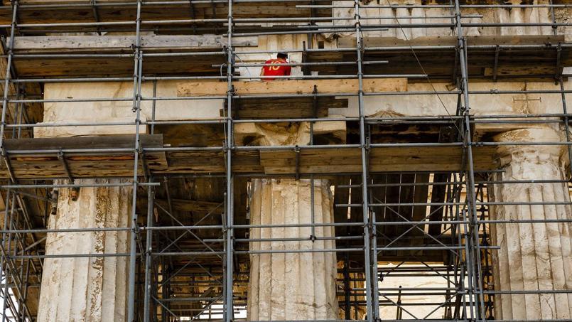 L'Acropole en travaux jusqu'à 2020 au moins.