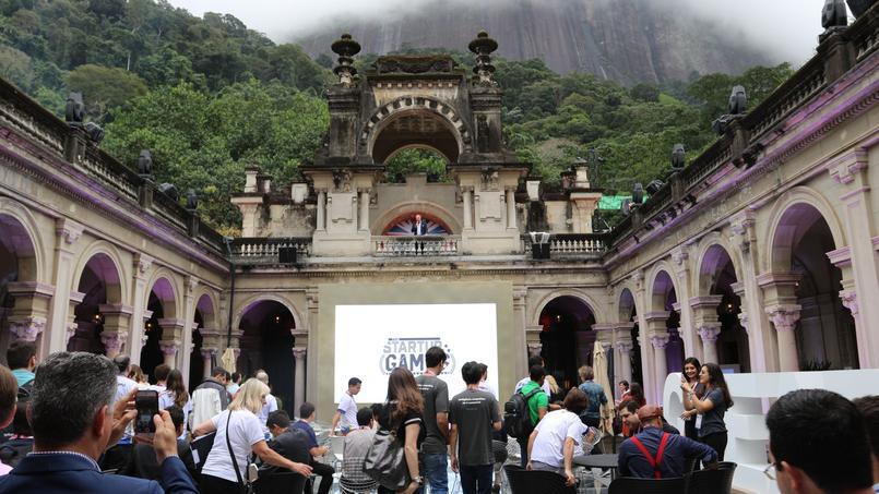 Le Startup Games rassemblait 41 start-up, essentiellement brésiliennes