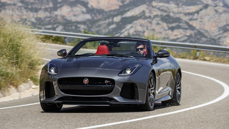jaguar f type cabriolet svr la griffe du fauve. Black Bedroom Furniture Sets. Home Design Ideas