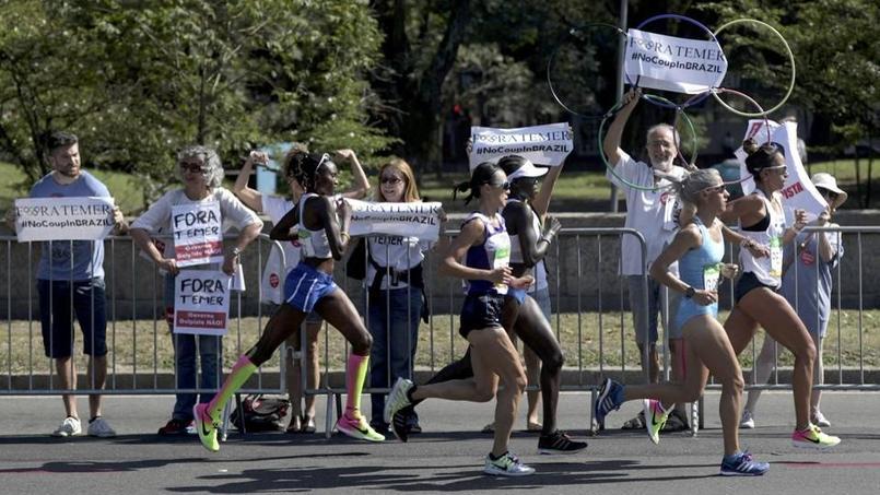 JO-2016/Marathon: Sumgong, une première pour le Kenya