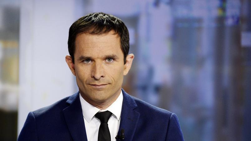 Benoît Hamon sur le plateau de France 2, le 25 août 2014.