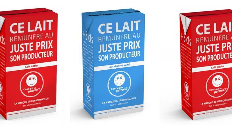 Et si le consommateur fixait lui-même le prix du lait ?