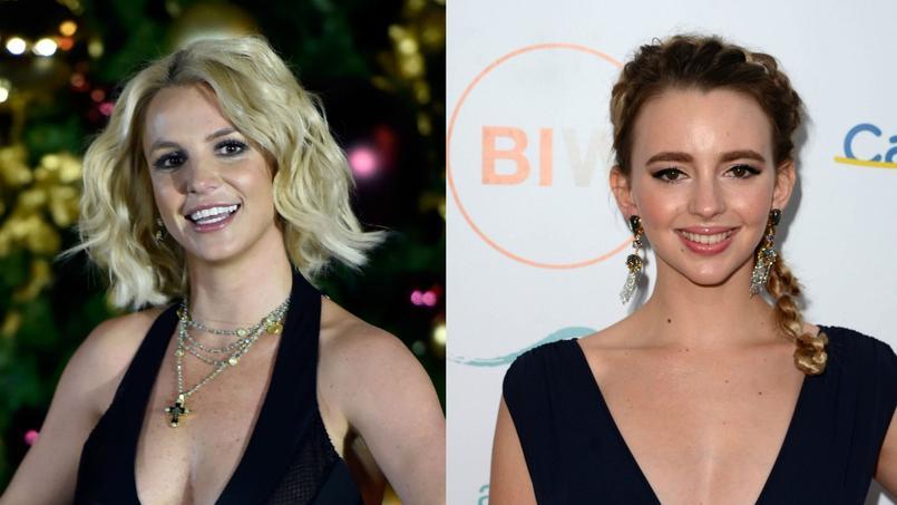 Britney Spears n'est pas d'accord avec l'idée de créer un biopic sur sa vie, dont Natasha Bassett.