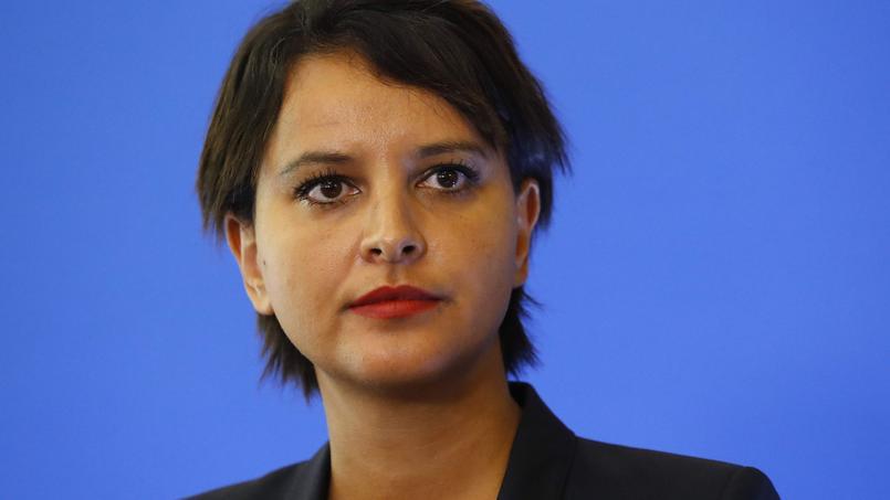 La ministre de l'Éducation nationale Najat Vallaud Belkacem.