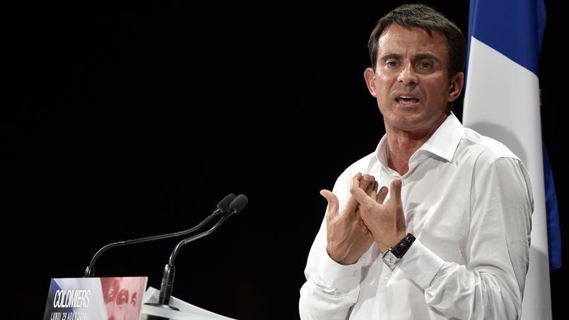 Discours de Manuel Valls lors du rassemblement du Parti socialiste à Colomiers lundi 29 août.