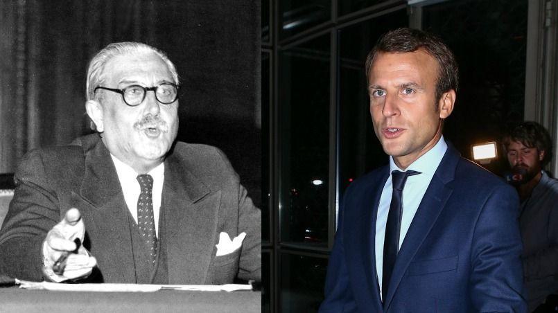 Dans sa marche vers les Français et l'Élysée, l'ancien ministre de l'Économie pourrait à nouveau avoir besoin de citer l'auteur des Grands cimetières sous la lune.