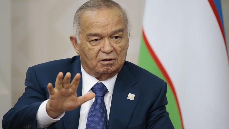 Islam Karimov, en juillet 2015.