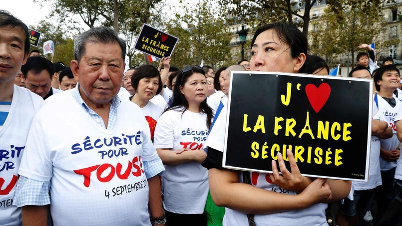 Le 21 août, la communauté chinoise avait déjà rassemblé plus de 2000 manifestants dans les rues d'Aubervilliers.