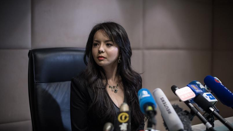 Anastasia Lin à Hongkong en novembre 2015. La jeune femme de 26 ans entend bien se servir de la tribune des Miss Monde, fin 2016, pour faire à nouveau parler de son combat.