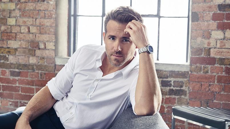 Ryan Reynolds, ambassadeur international de la Polo S en acier.