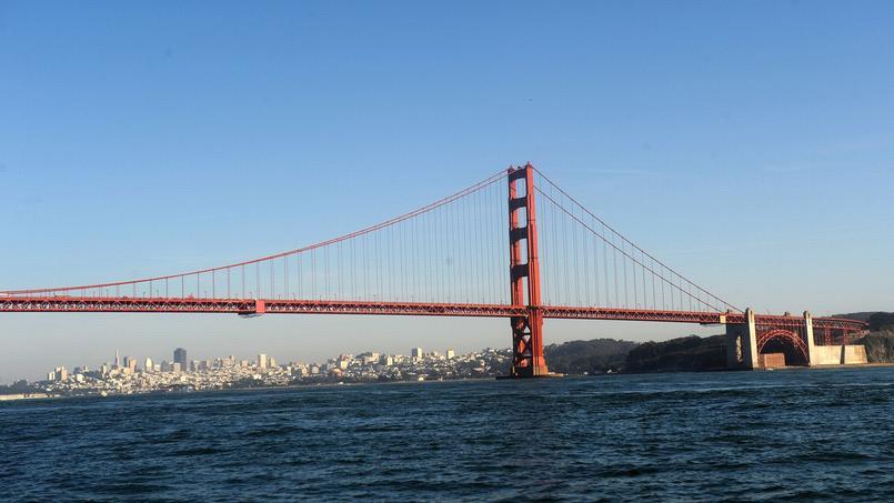 Le Pont du Golden Gate à San Francisco.