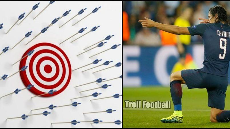 PSG-Arsenal: Cavani se fait chambrer pour sa maladresse