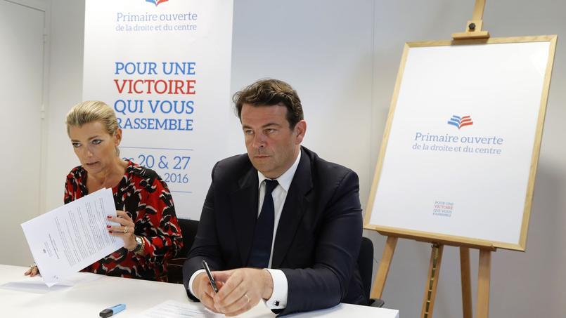 Anne Levade et Thierry Solère président la Haute autorité pour la primaire de la droite et du centre.