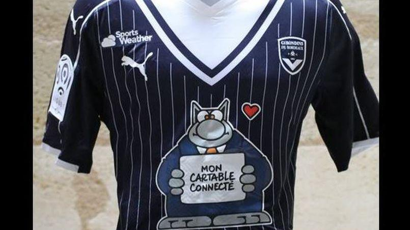 Le maillot des Girondins contre Angers.