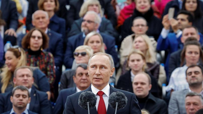 Vladimir Poutine à Moscou, le 10 septembre.