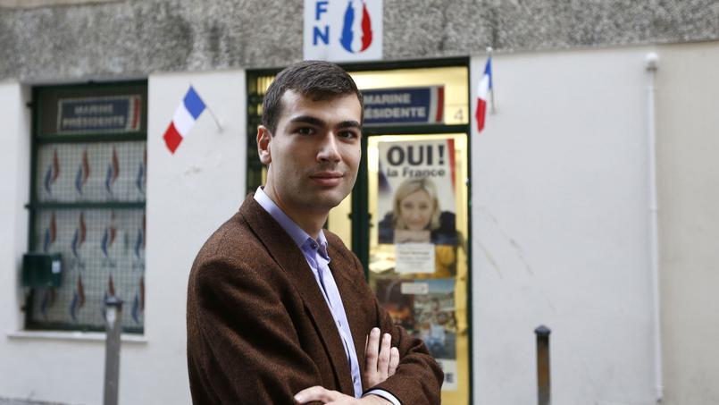 Gaël Nofri, conseiller municipal, ancien du FN (Photo AFP)