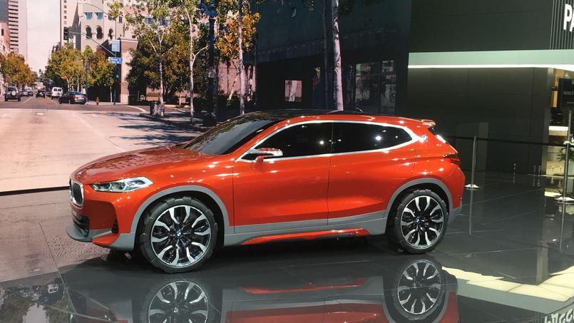 bmw x2 concept un x1 plus sportif. Black Bedroom Furniture Sets. Home Design Ideas