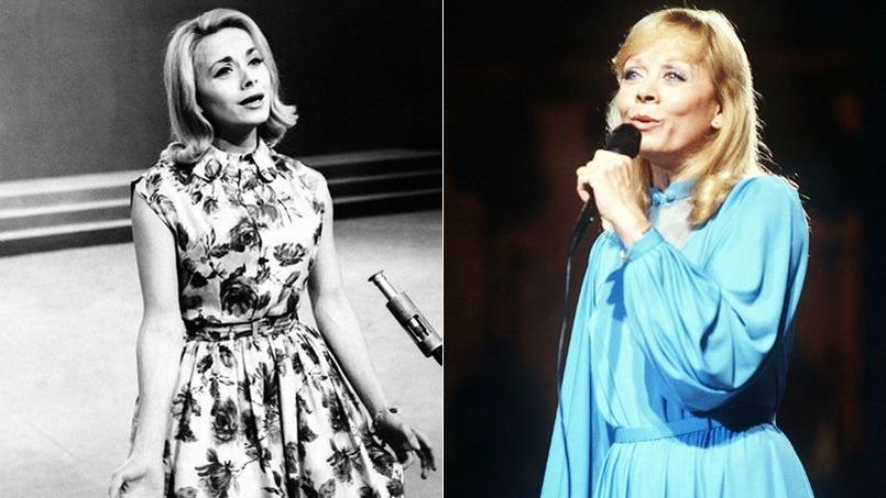 La chanteuse Isabelle Aubret, qui fait ce soir ses adieux à l'Olympia, a vu deux fois sa carrière brisée par deux graves accidents.