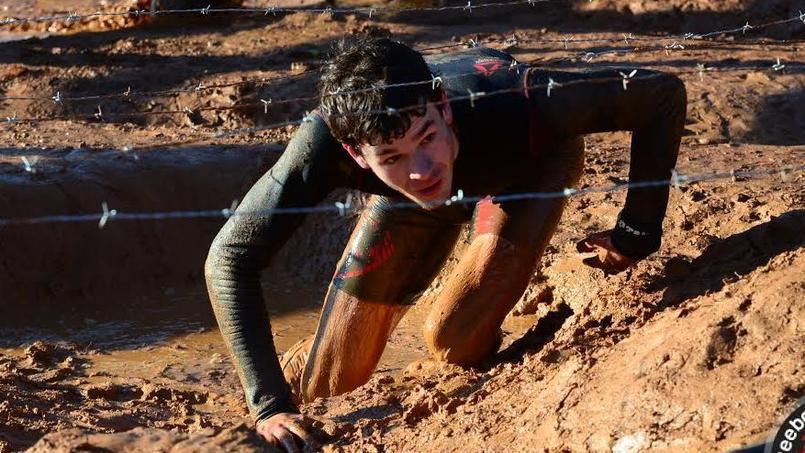 Un participant de la Spartan Race.