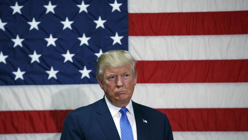Donald Trump lors d'un meeting, jeudi.