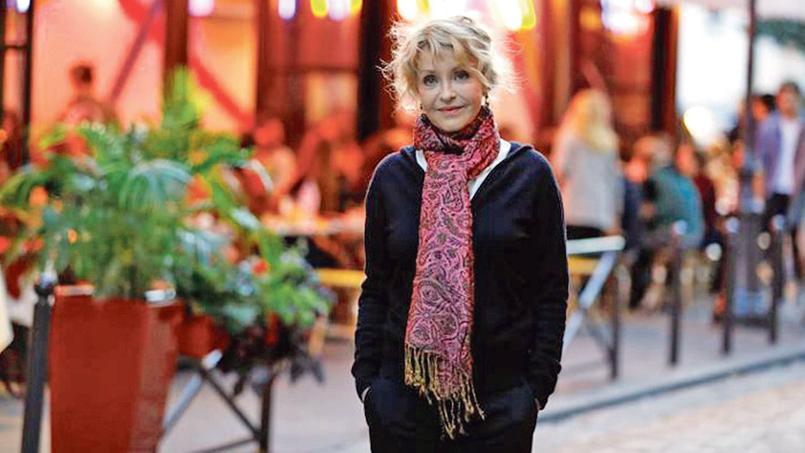 La comédienne Fanny Cottençon vit entre place Monge et les Gobelins