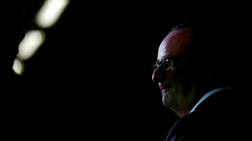François Hollande après une visite à Rouen, le 10 octobre dernier.