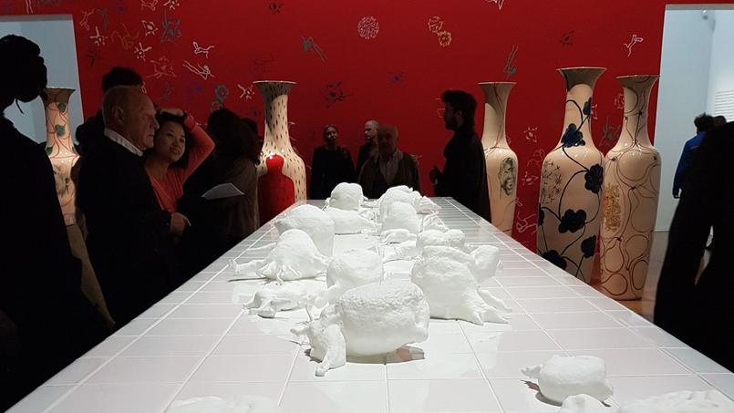 Paris ce week end art contemporain mus e gratuit et salon vintage - Salon art contemporain paris ...