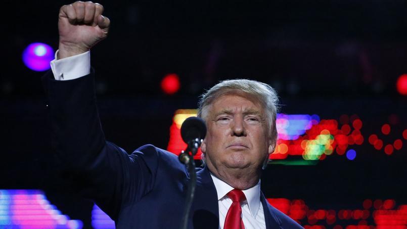 Donald Trump, samedi dans le New Jersey.