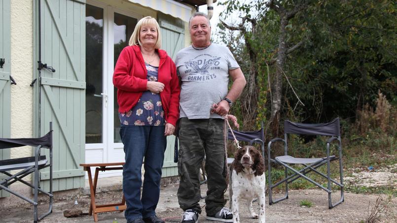 Victor et Carolyn Tester ont vu leurs revenus diminuer avec le Brexit, Crédit photo: Mathilde Golla
