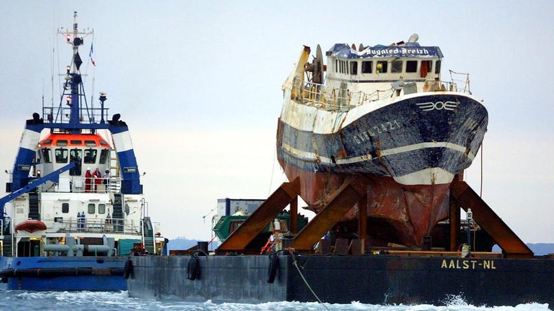 Le Bugaled-Breizh avait fait naufrage au large du cap Lizard en janvier 2004.