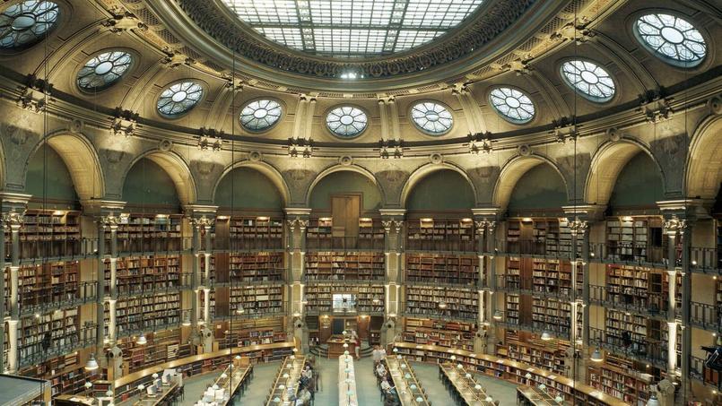 La salle Ovale de la Bibliothèque nationale de France