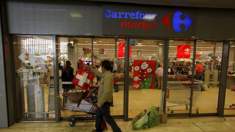 Les supermarchés (Carrefour Market) ont enregistré entre juillet et septembre une progression de 3,7% de leur chiffre d'affaires, à 3,28 milliards d'euros.
