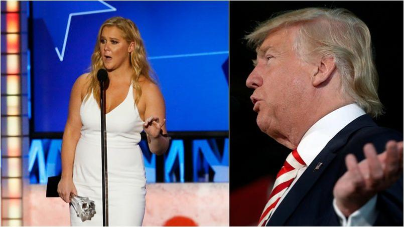 Pour Amy Schumer, Donald Trump est un «monstre orange et pervers sexuel».