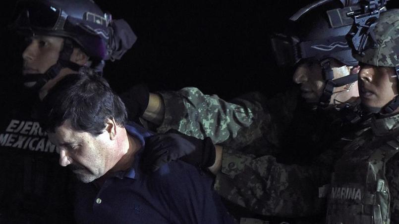 L'arrestation de Joaquin Guzman, dit «El Chapo», en 2014.
