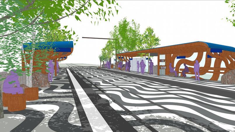 Afin d'embellir le trajet des parisiens, cinq artistes contemporains vont produire une œuvre pour le futur tronçon du tramway parisien T3.