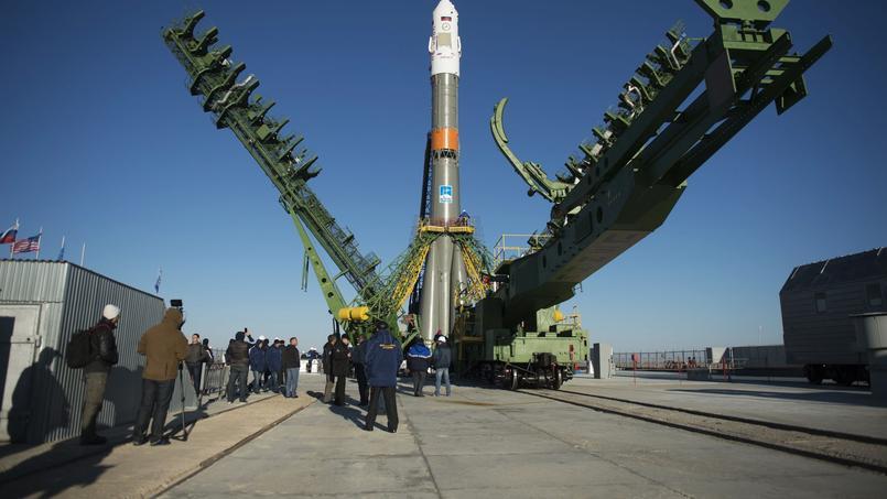 Soyouz MS-02: deux Russes et un Américain en route pour l'ISS
