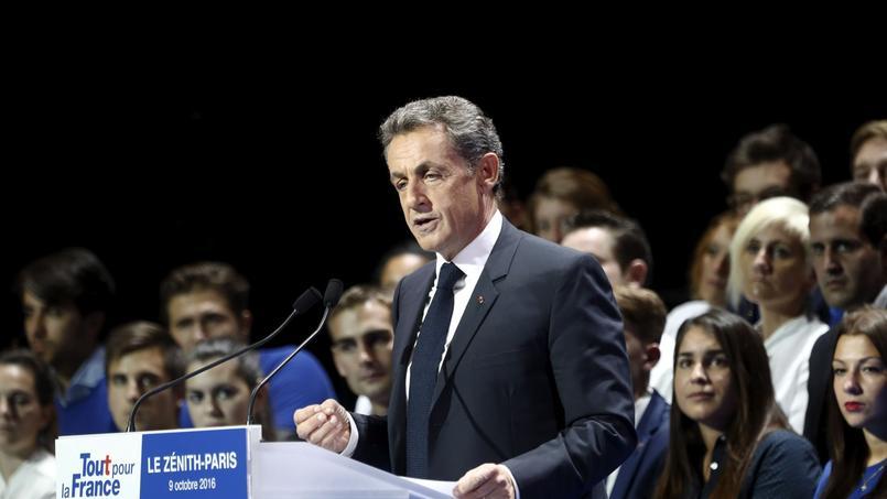 Nicolas Sarkozy entend baisser la dépense publique de 100 milliards d'euros.