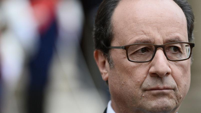 François Hollande à l'Élysée, le 25 octobre 2016.