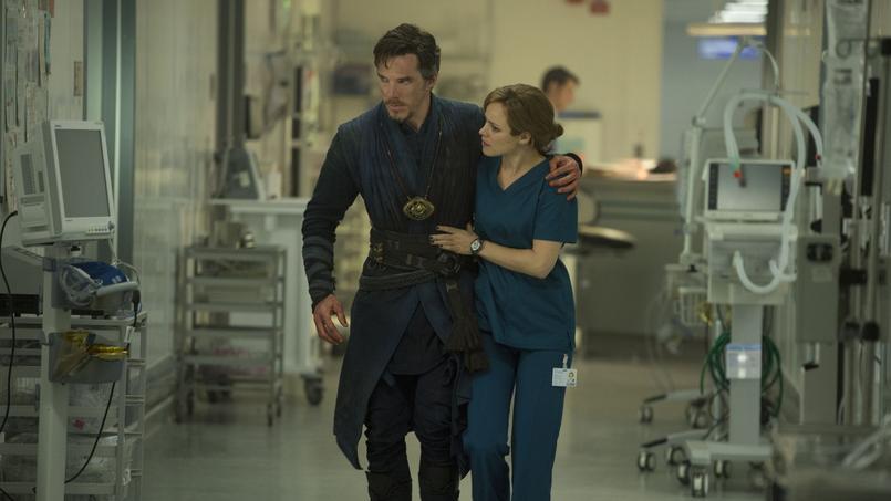 Benedict Cumberbatchet Rachel McAdams au-delà du réel.