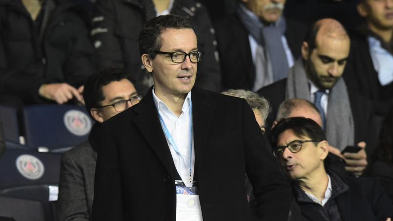 Jacques-Henri Eyraud, président de l'Olympique de Marseille.
