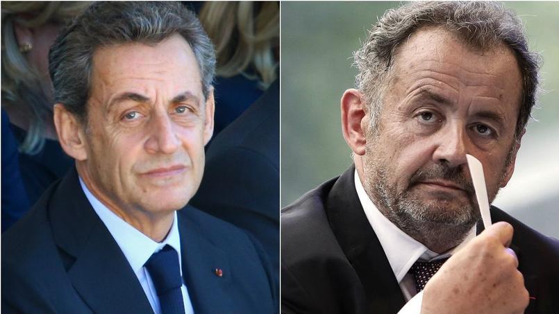 Nicolas Sarkozy, à gauche, et Guillaume Sarkozy.