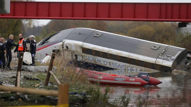 Le déraillement du TGV Est dû à des erreurs de calcul — SNCF