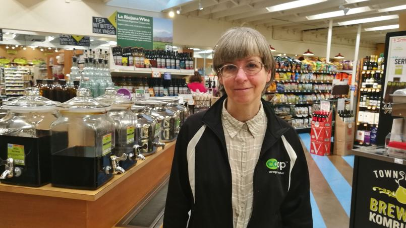 Deb Shortess, directrice d'une coopérative alimentaire à Port Townsend.