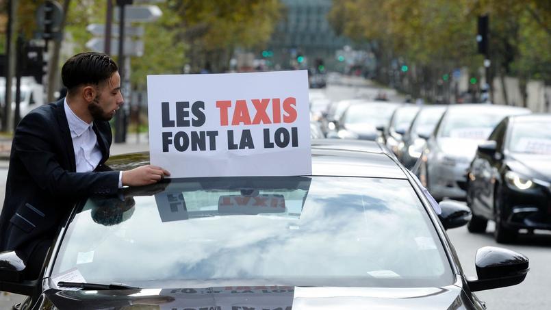 Conflit VTC - Taxis : la loi de «pacification» adoptée au Sénat
