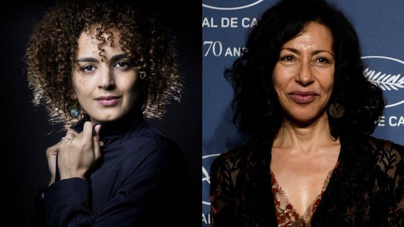 Leila Slimani (à gauche) et Yasmina Reza (à droite).