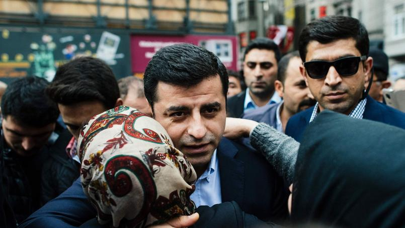 Selahattin Demirtas, coprésident du HDP, en octobre 2015.