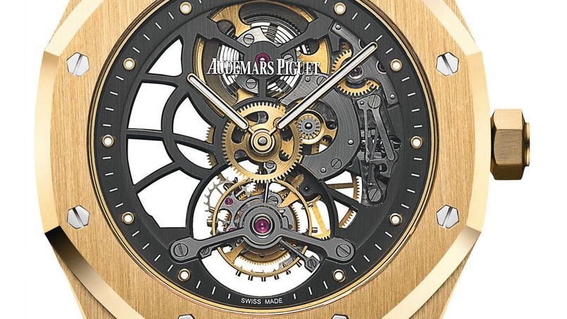 Ultradesign, cette Royal Oak d'Audemars Piguet.